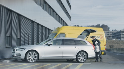Volvo - In Car Delivery