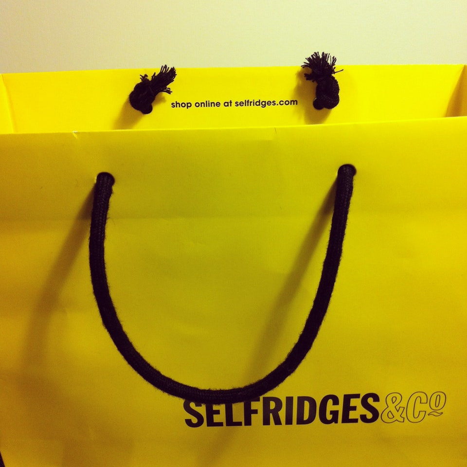 Selfridges makes you happy