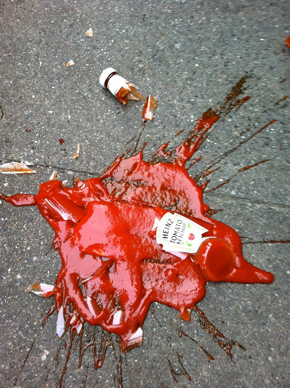 Death by ketchup