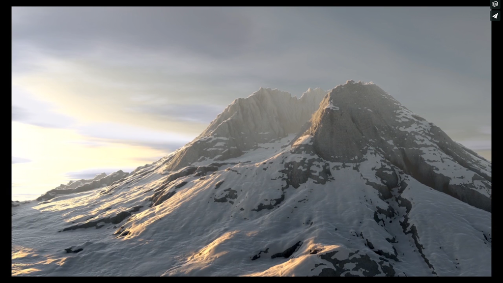 Mountain Terrain Texturing in Cinema4D