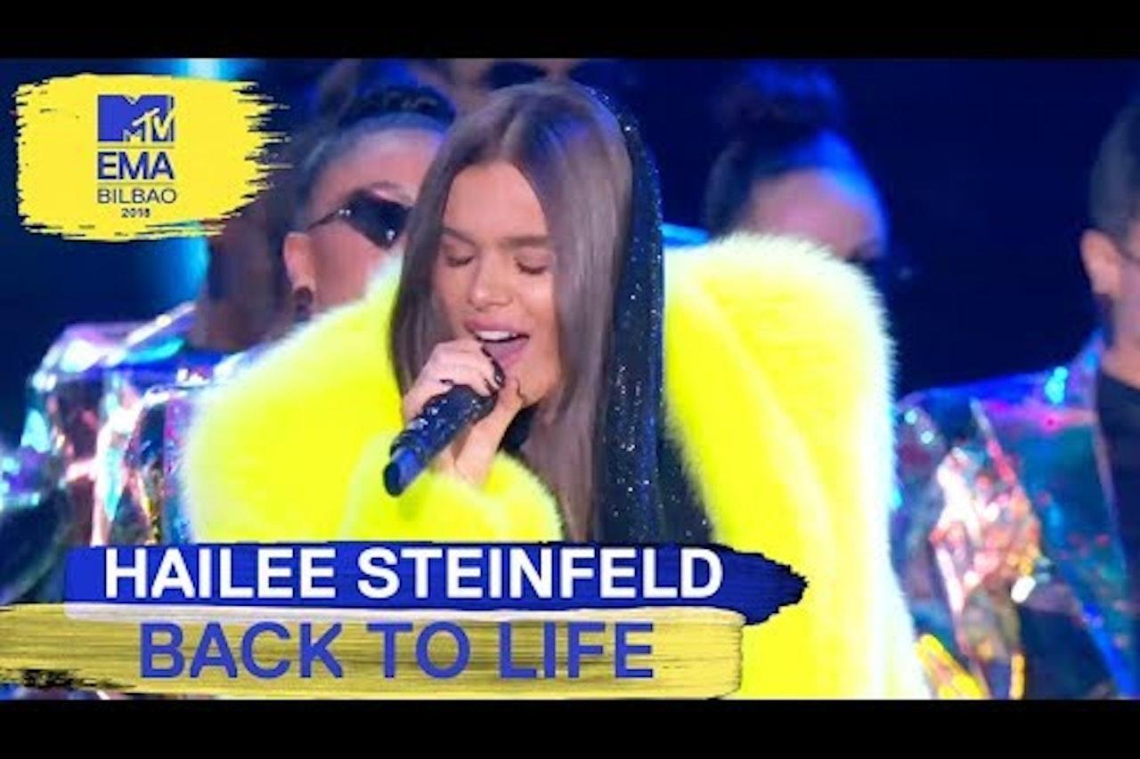 "Hailee Steinfeld - ""Back To Life"" Live | MTV EMAs 2018"