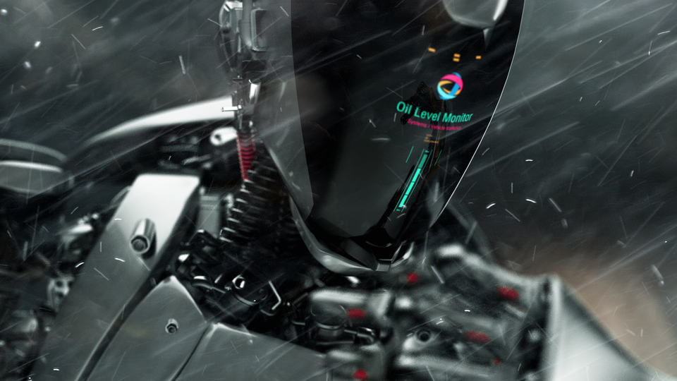 Total Oil Robot_rain_silv