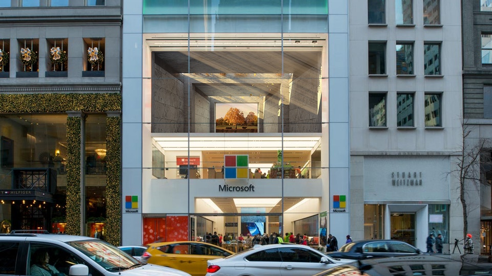 NYC |Microsoft store