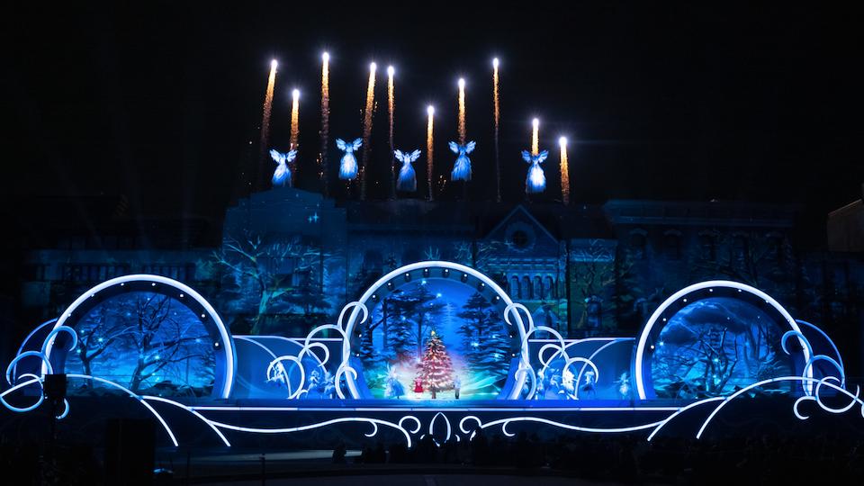 The Crystal Promise Christmas show Universal Studios Japan