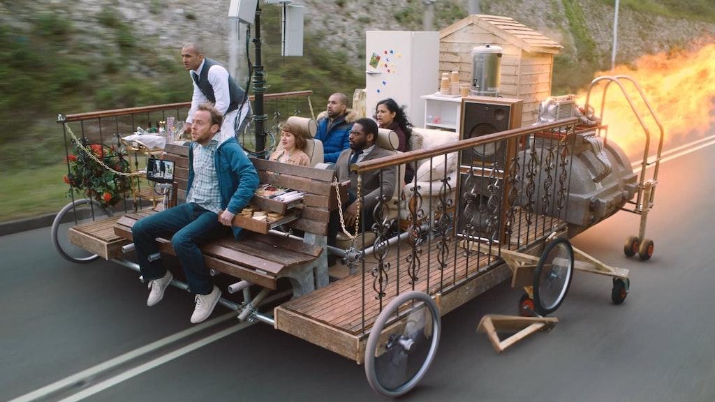 VIRGIN TRAINS - Very Fast Chair
