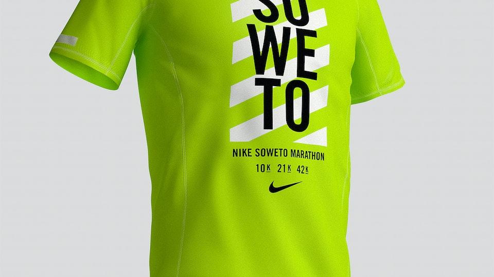 Nike / Soweto Marathon Tee