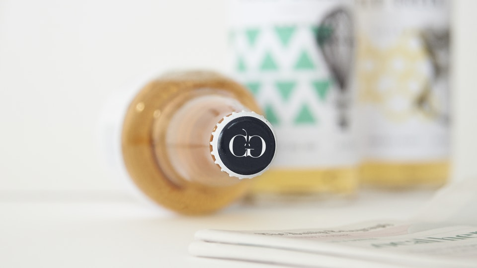 Cold Green Cider, branding, packaging design & illustration