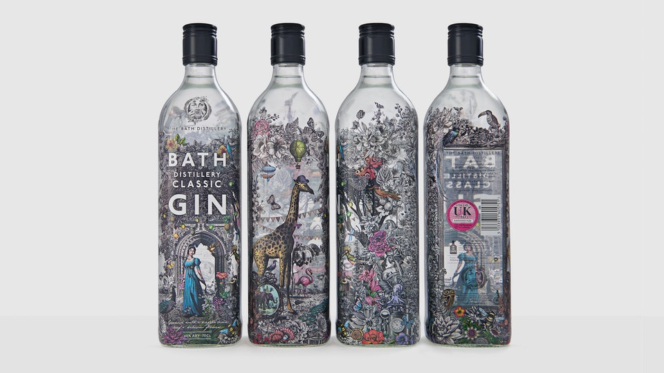 The Bath Distillery, branding & packaging design
