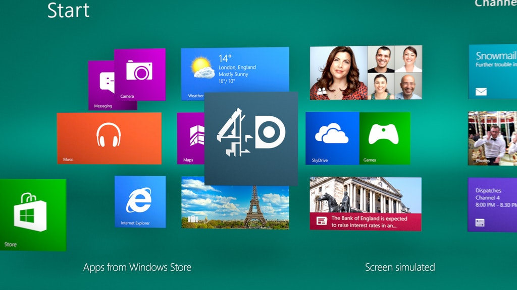 4oD on Windows 8
