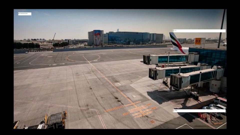 EMIRATES 'A380 TURNAROUND'_ Commission