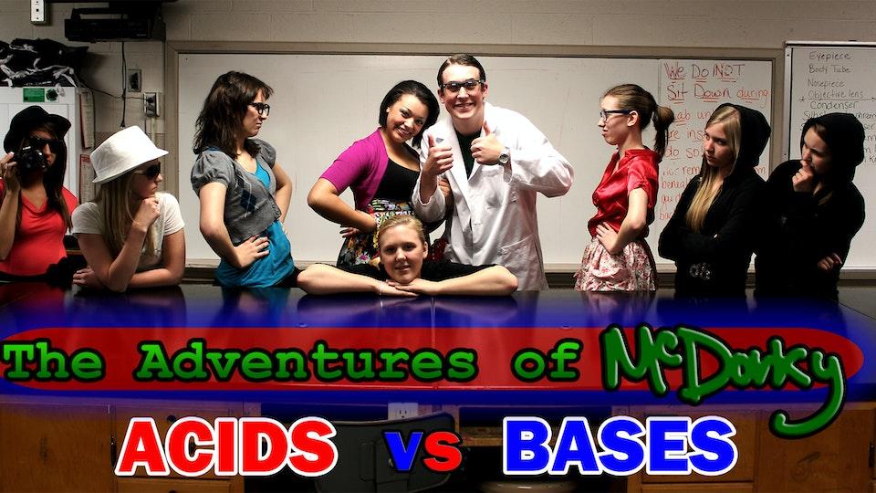 Acids vs. Bases