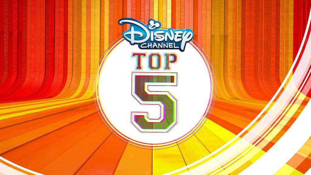 DISNEY CHANNEL TOP 5