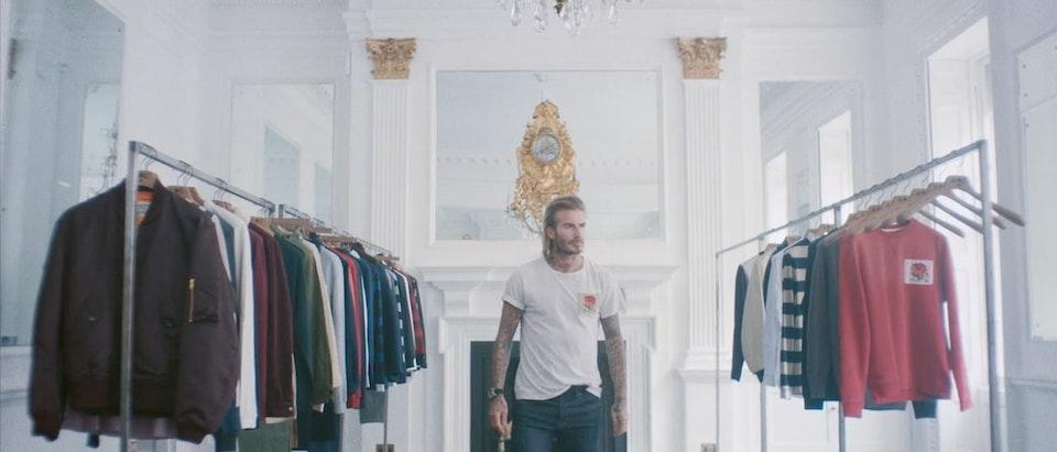 Kent & Curwen/T-Mall 'David Beckham's Disappearing Wardrobe'