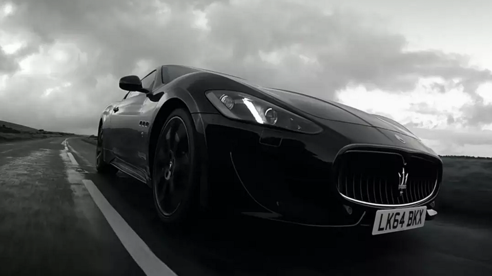 Maserati - Wherever you go, choose the longest road