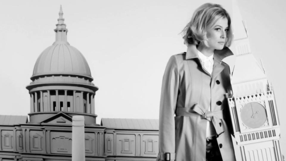 Rosamund Pike. LK Bennett AW 2013 Campaign Film. Miniature London