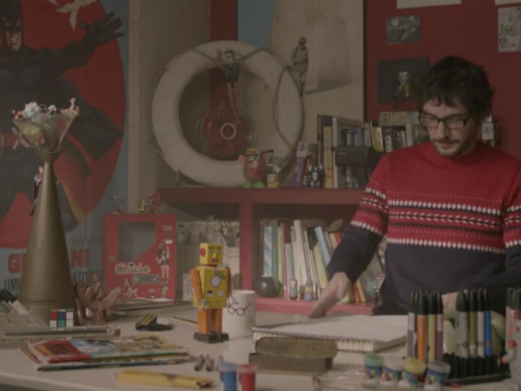 """""""La Fábula del dibujante"""" - Short film"""