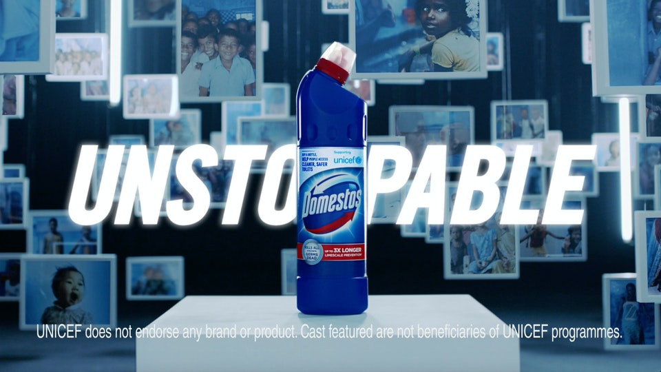 Domestos 'Unstoppable'