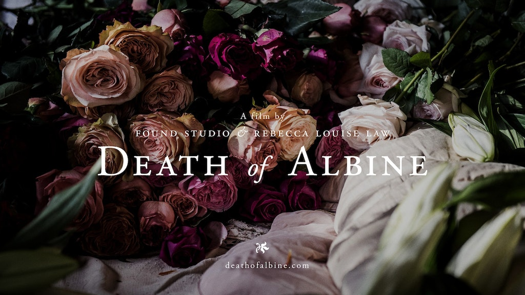 Glass TV Exclusive of 'Death of Albine'
