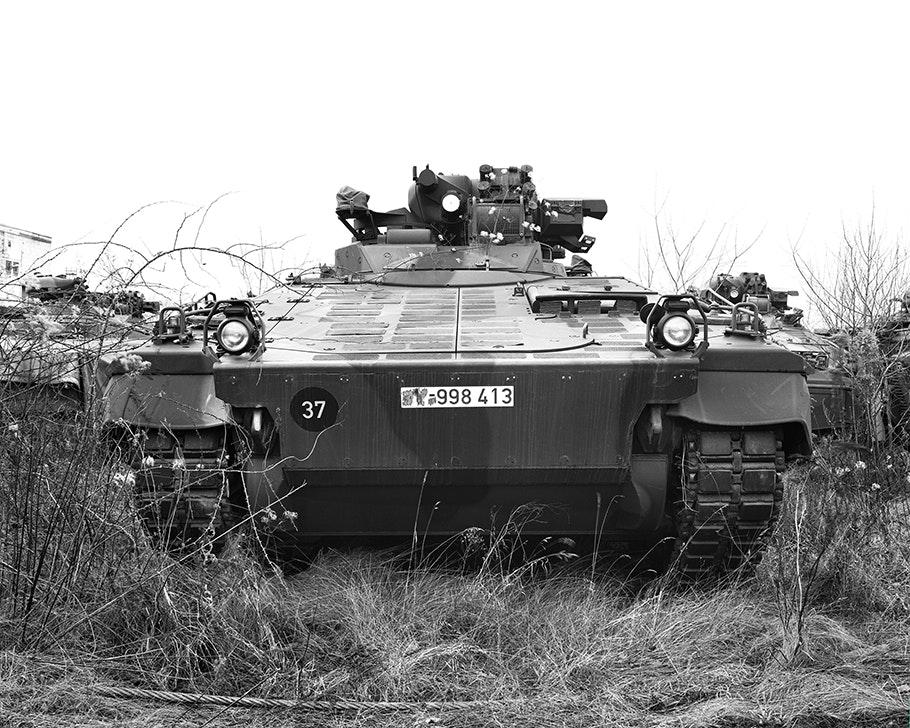 Sebastian Wanke, Panzer, Baryt, 4 x 5
