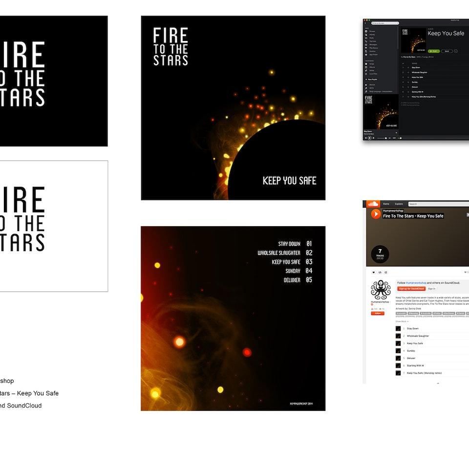 Fire to the Stars - Album Art 8b570d24431935.56356f8233b92