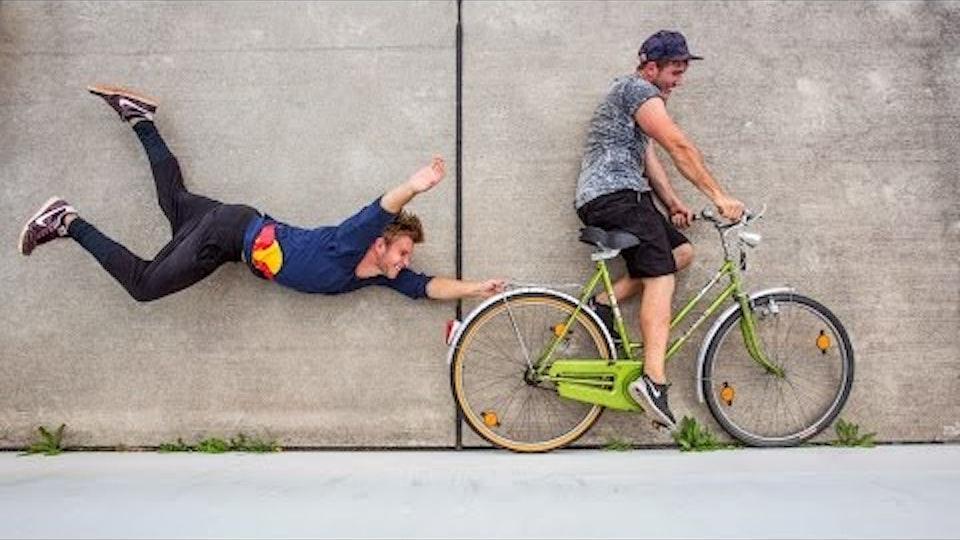 'RUNNING ILLUSIONS' Red Bull Jason Paul's Freerunning Illusions