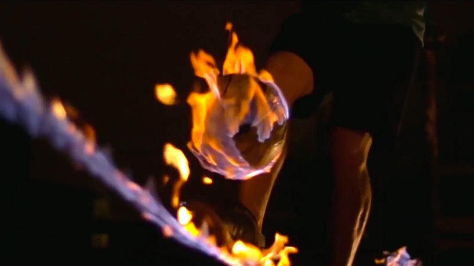 FRANK SAUER | Filmmaker - Burning Slackline