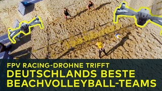 FPV meets Beachvolleyball
