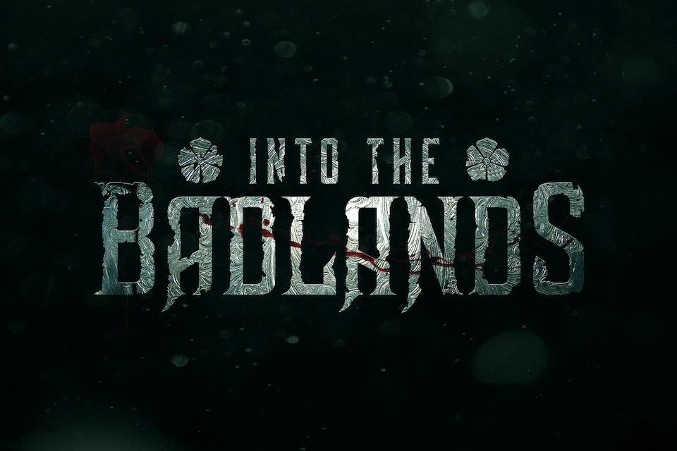 Into The Badlands - Logo design