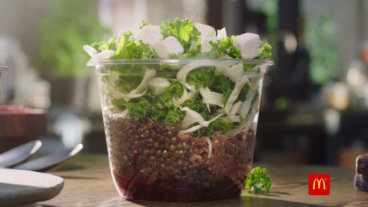 McDonalds Pulled Beef Salad
