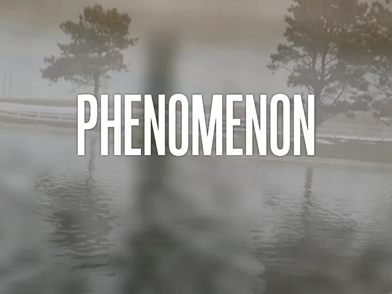 Phenomenon Main Title Animation