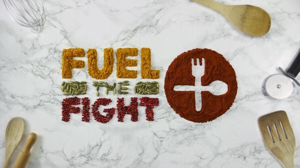 STOP-FRAME FOOD TYPO