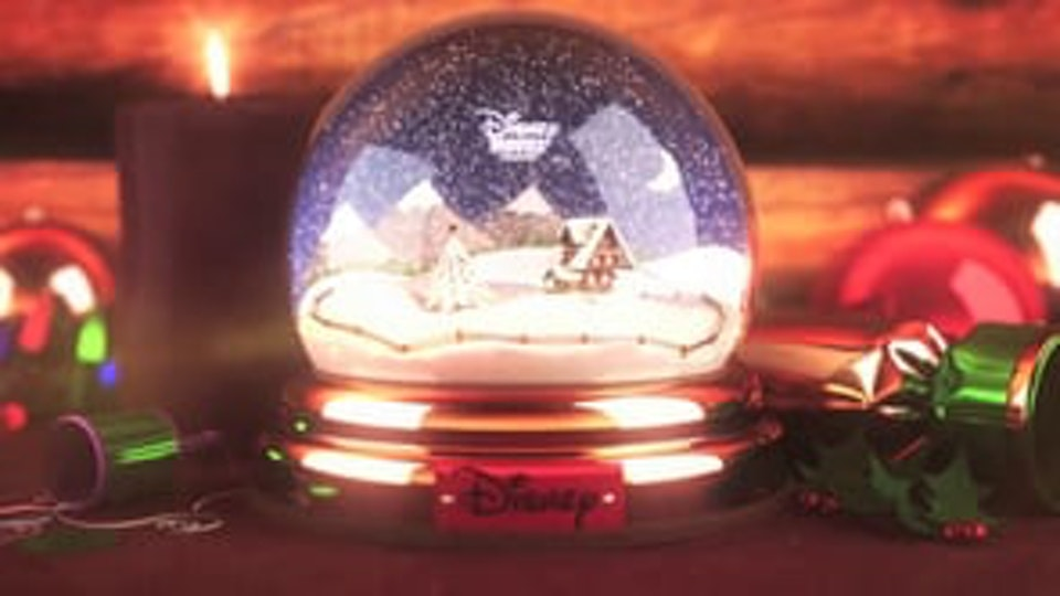 Disney Movies on demand, Snowglobe Promo