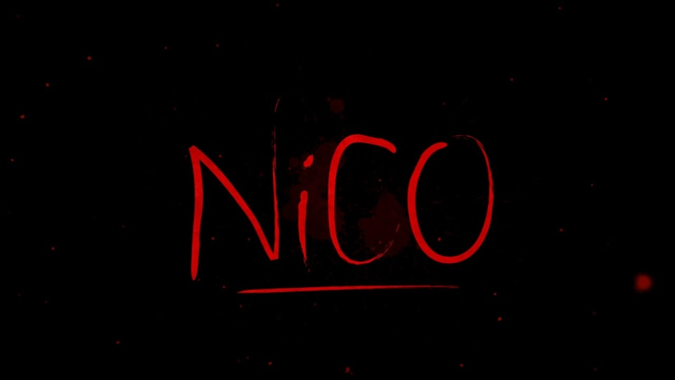 """Nico"" - Short Film Title Sequence"