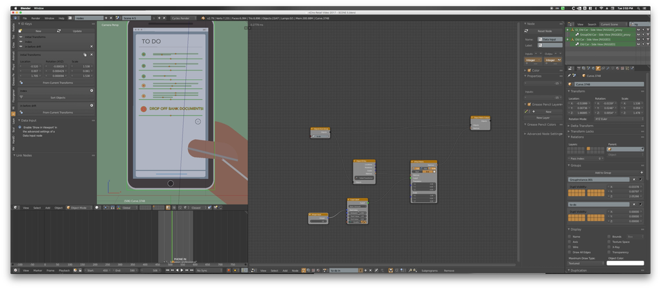 BLENDER - Animation Nodes 2.0 for Animating Objects in Groups