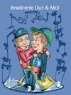 Brødrene Dur & Mol - Forside illustration til børnebog