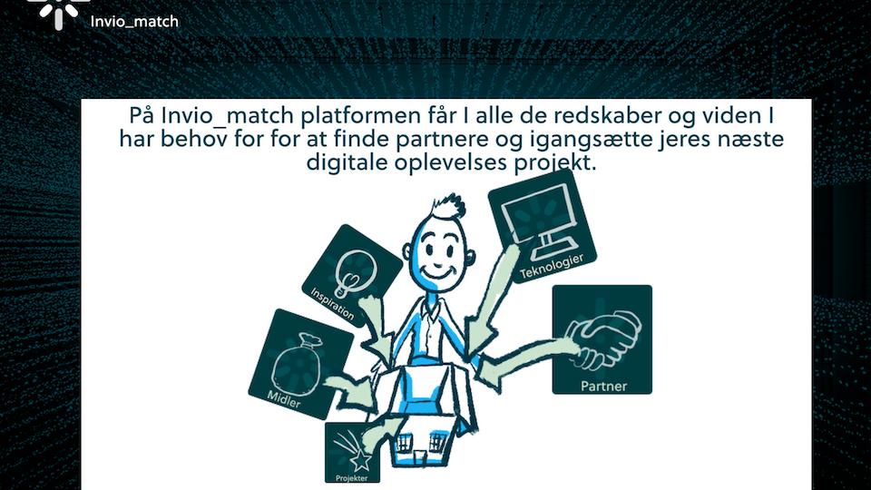Invio Match - Digitale og visuelle oplevelser