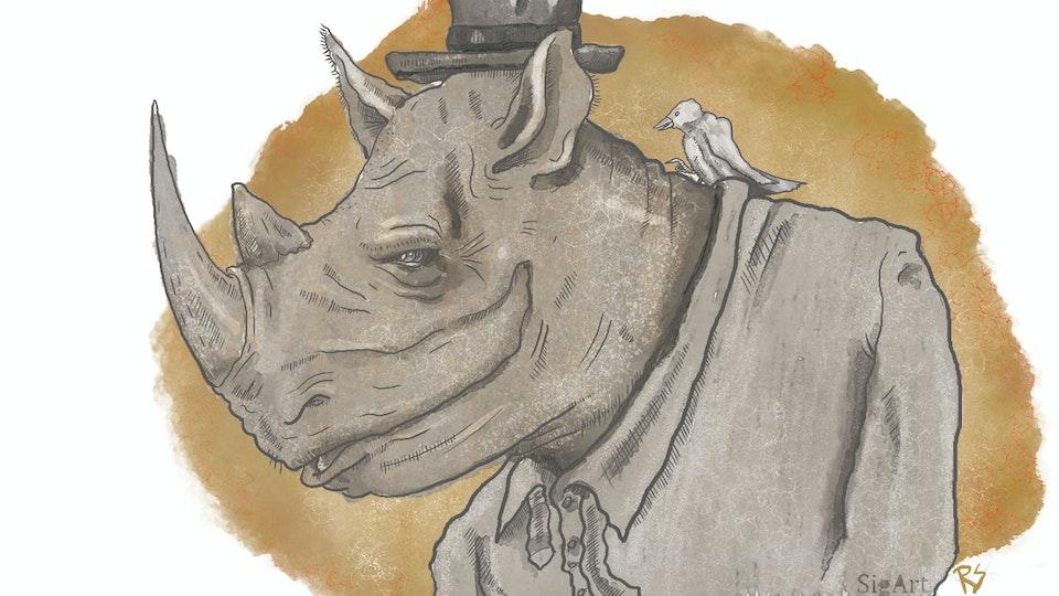 The rhino and the whisper