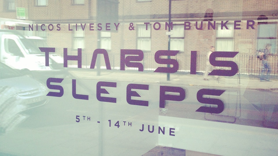 THRONE - THARSIS SLEEPS - The project culminated in an exhibition at The Cob Gallery in Camden