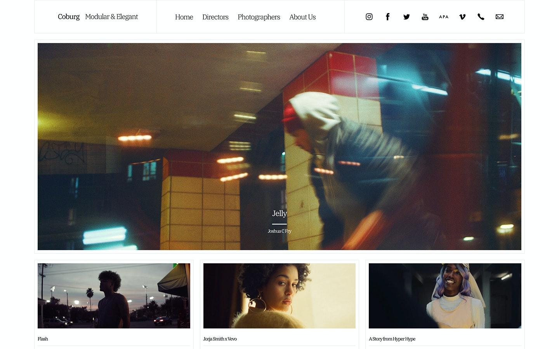 Fabrik agency Coburg theme