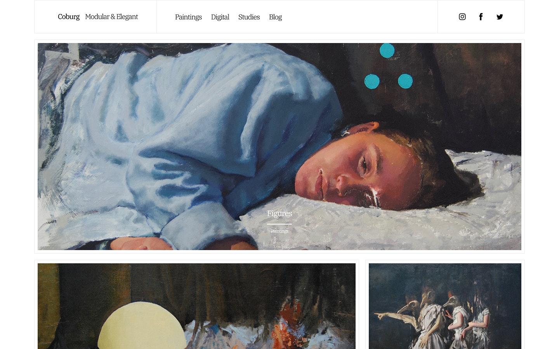 Fabrik artist Coburg theme