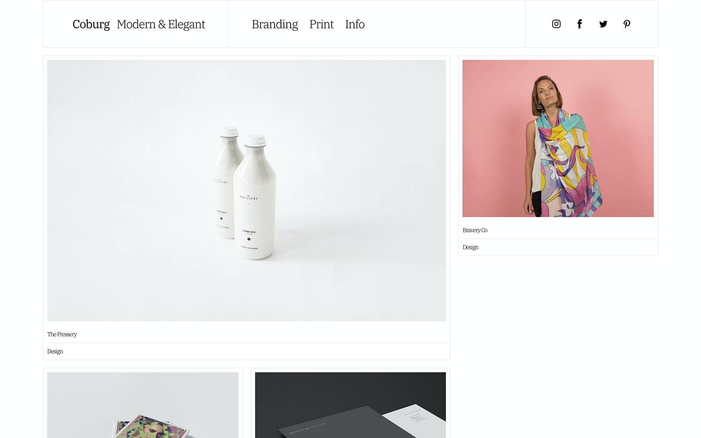 Fabrik designer Coburg theme