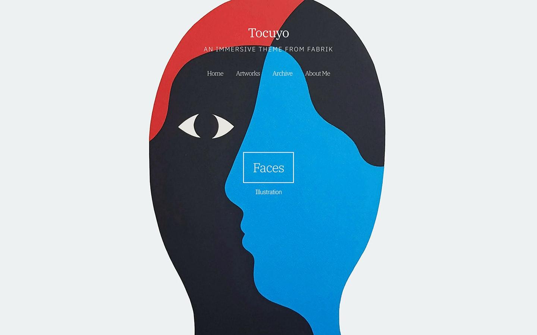 Fabrik illustrator Tocuyo theme