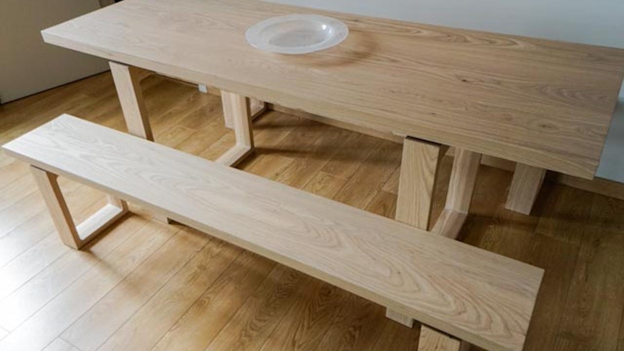 Small Ash Table