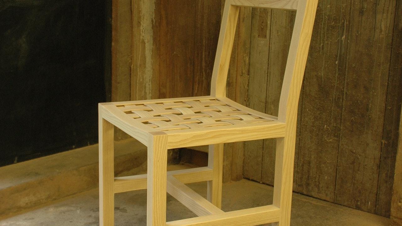 Woven Ash Chair