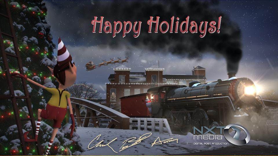 NXT Media Holiday Cards