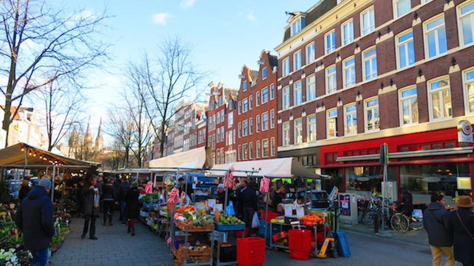 GIJS STOLLMAN // SOUND AND MUSIC - Lindengracht Market Amsterdam. In Binaural Stereo.