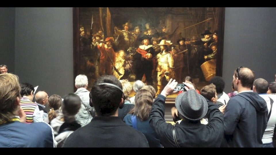 GIJS STOLLMAN // SOUND AND MUSIC - Rijksmuseum the Hall of the Old Masters in Binaural stereo