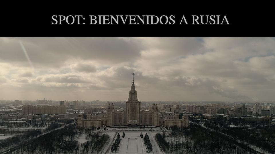 Destino Rusia 2018 HBO / DR2018 / SPOT: BIENVENIDOS A RUSIA