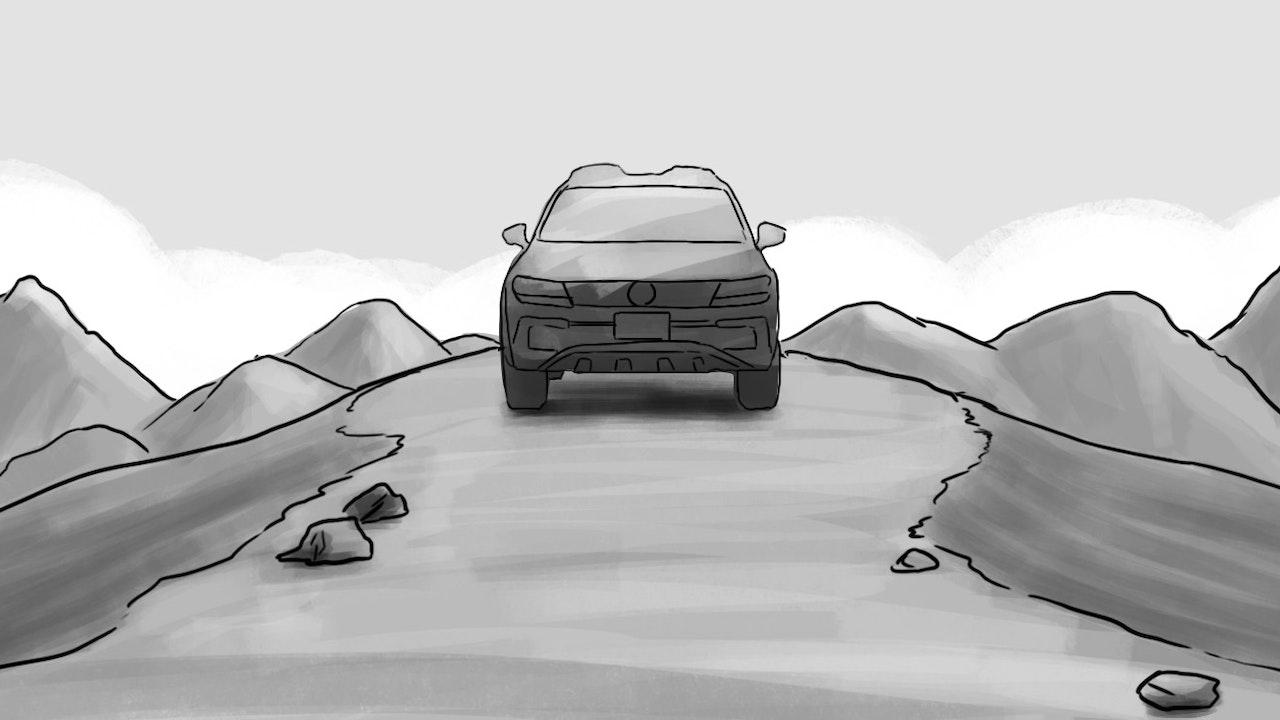VW TIGUAN »OFF THE ROAD AGAIN« -