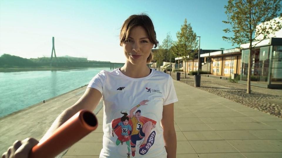 PAWEŁ IDZI CAMERA - PKO Bieg Charytatywny - Karolina Gorczyca